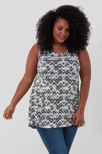 T-shirt basic avec imprimé