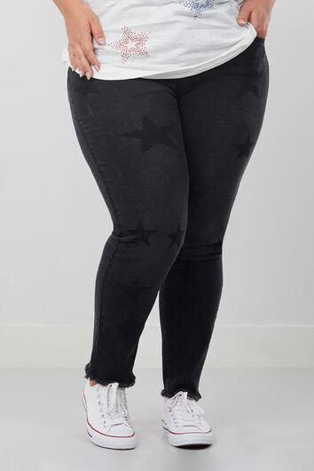 Jeans Slim leg étoilé