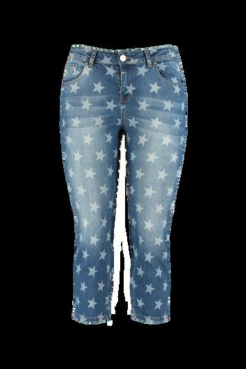 Jean Capri imprimé étoiles