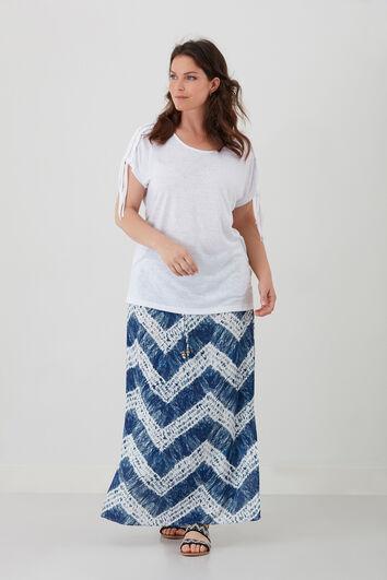 Jupe longue imprimé tie-dye