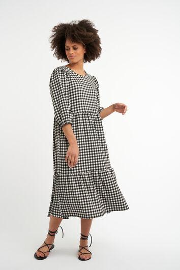 Longue robe ample à imprimé