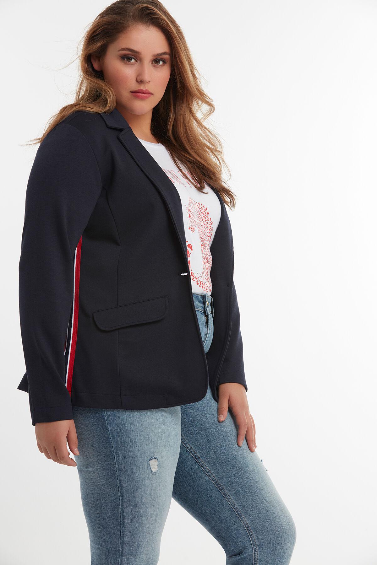 Au Femme Tailles Grande Ms Taille Blazers 54 Mode 40 4qSHSp