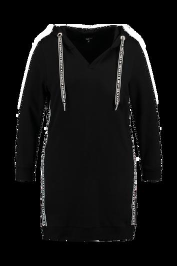 Robe pull avec rayures sportives