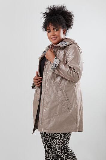 Manteau à capuche mi-saison