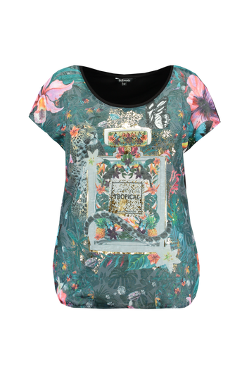 Chemise avec imprimé devant