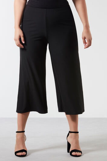 Pantalon coupe ample : Jupe-culotte