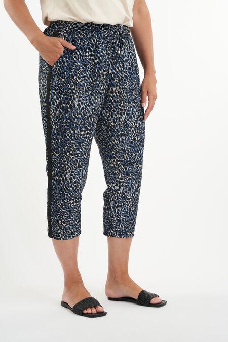 Pantalon ample à imprimé