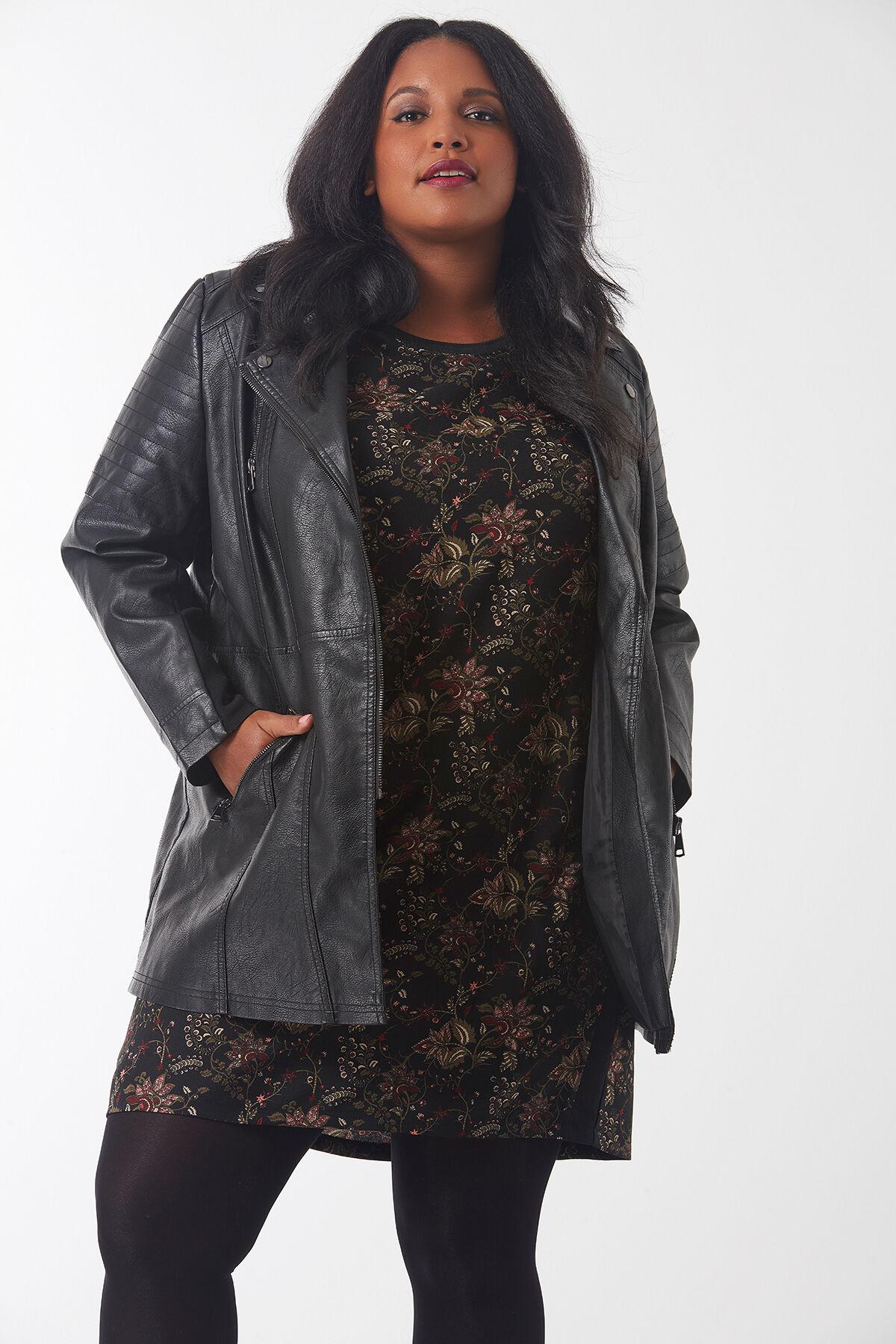 Taille Femme Au Tailles Ms amp; 54 40 Mode Grande Manteaux Vestes qptZPF