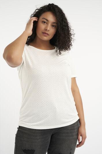 T-shirt avec petits clous