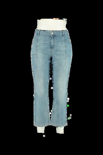 Jeans aux poches latérales