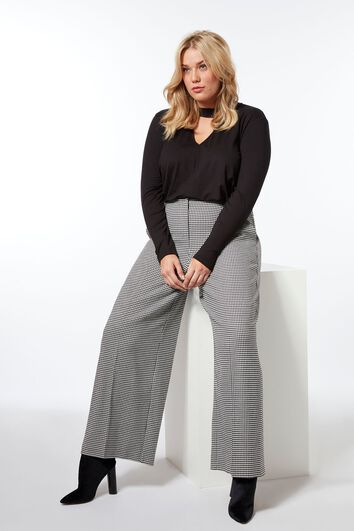 Pantalon coupe large