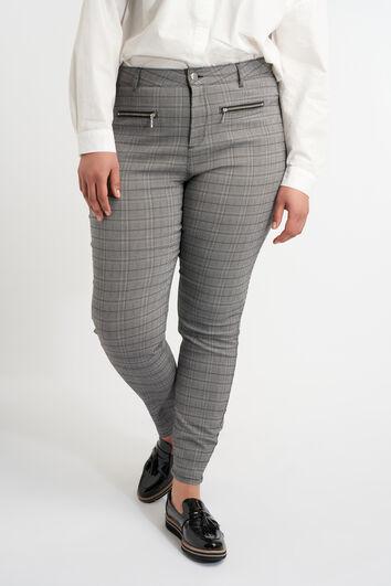 Pantalon aux fermetures décoratives