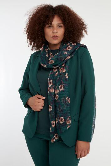 Foulard à imprimé floral