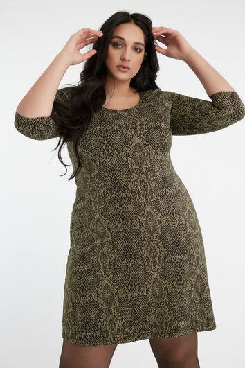 Robe tunique  avec imprimé