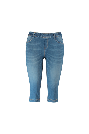 Jean jegging court