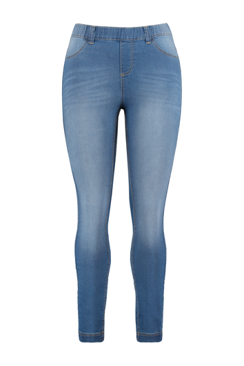 Treggings jambe slim POPPY
