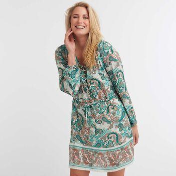 Paisley Shirtdress