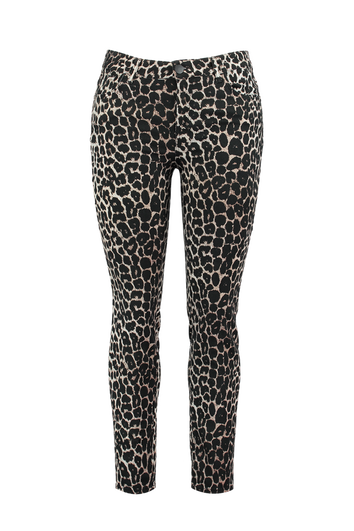 Pantalon impression léopard