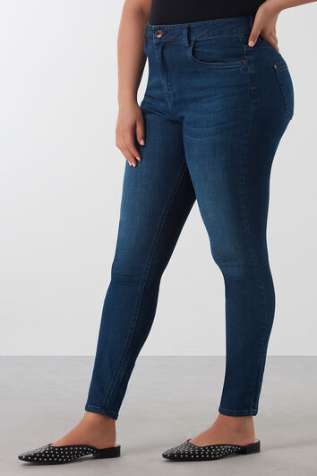 JEANS TAILLE HAUTE super skinny