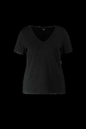 T-shirt à manches courtes avec col en V