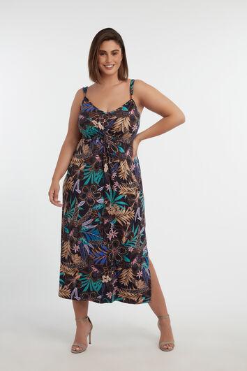 Robe avec imprimé floral