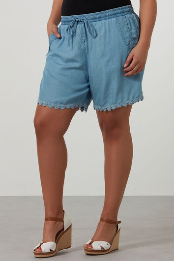Short en tencel