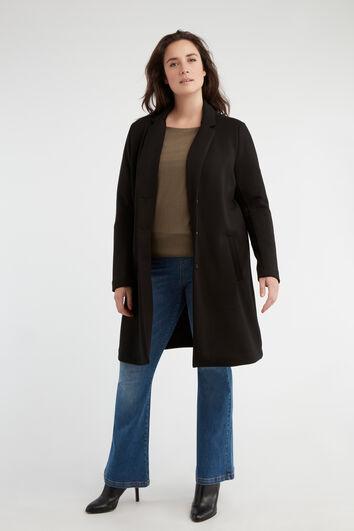 Manteau avec revers