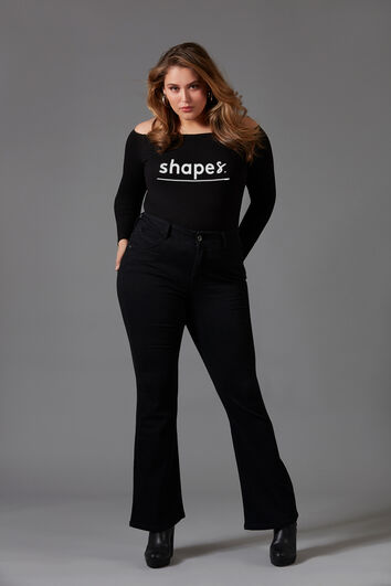 Magic Simplicity SHAPES flared jeans