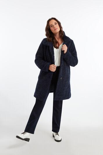 Manteau duveteux