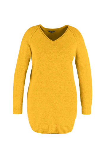 Robe pull avec col en V