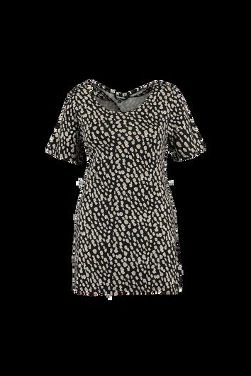 T-shirt long avec détails dans le dos