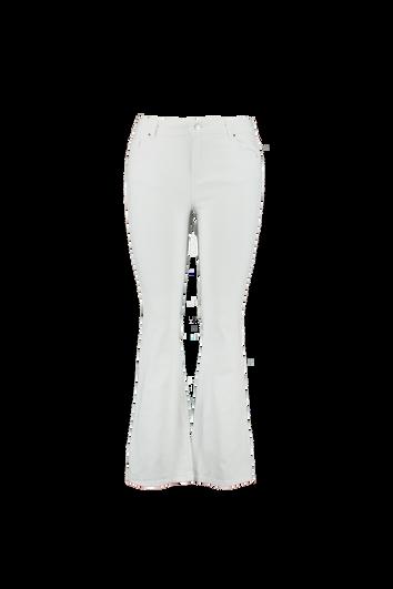 Pantalon blanc évasé