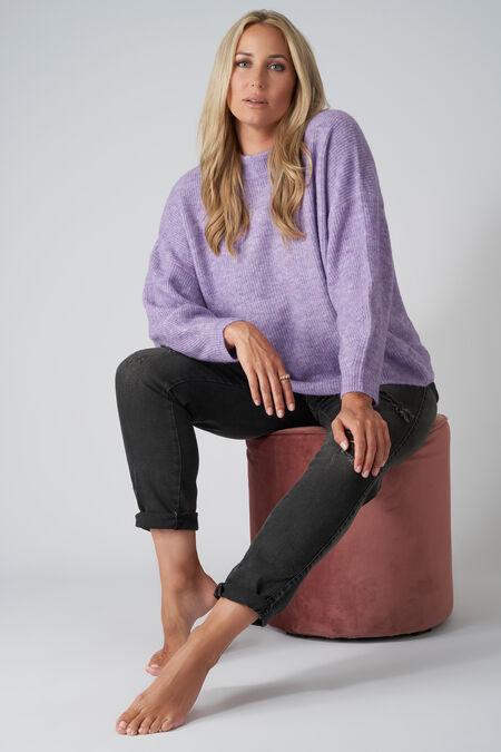 Pull en tricot épais