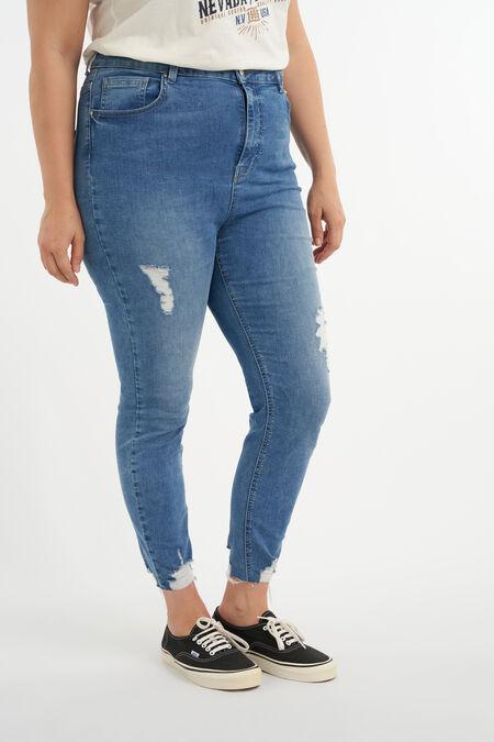 Jeans avec déchirures