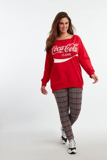 Pull à imprimé Coca-Cola